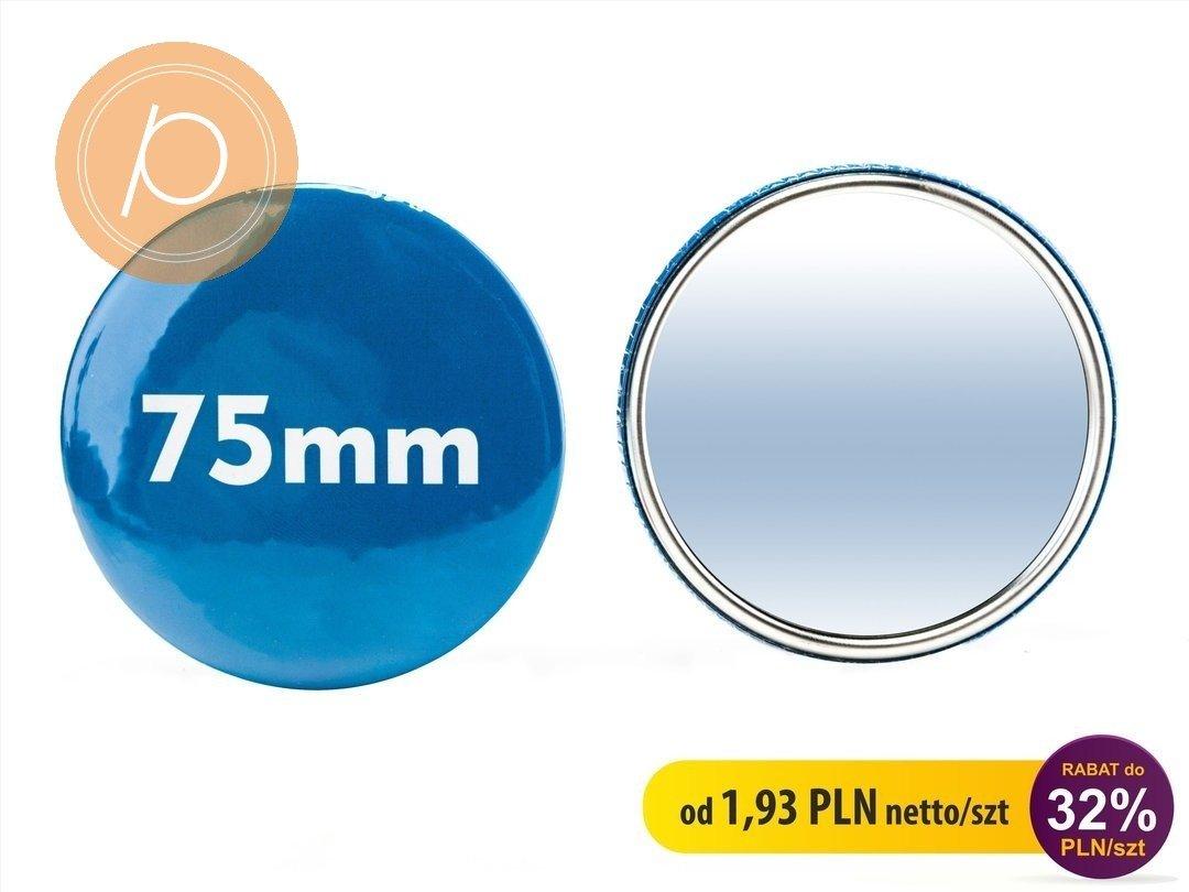 Luserko okrągłe w rozmiarze 75mm